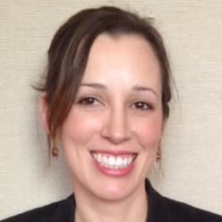 Program chair, Laura Hiatt